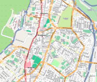 Map of Rondebosch