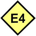 Symbol European Walking Route E4 EL.png