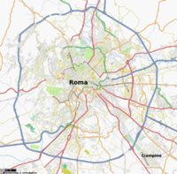 Map of Roma