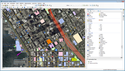 Screenshot of ArcGIS Editor for OSM