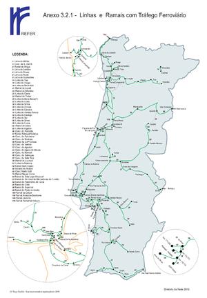 mapa das linhas ferroviarias de portugal WikiProject Portugal/Ferrovias/Rede Ferroviária   OpenStreetMap Wiki mapa das linhas ferroviarias de portugal