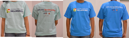 Osm free and open map tshirt.png