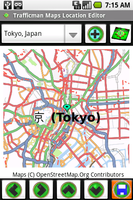 Screenshot of Trafficman Maps