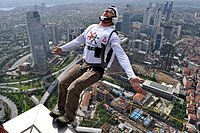 BASE Jumping from Sapphire Tower in Istanbul.jpg