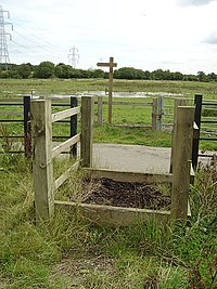 Horse stile on the Doncaster Greenway - geograph.org.uk - 502599.jpg