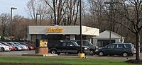 Hertz car rental office Livonia Michigan.JPG