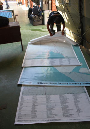 Three large poster maps of Tacloban, Guiuan and Ormoc.jpg