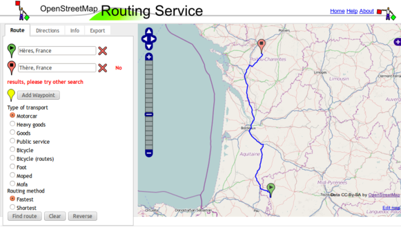 Leaflet Routing