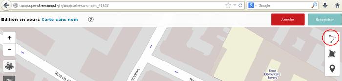 Fr Umap Guide Dessiner Une Ligne Openstreetmap Wiki