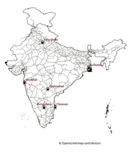 Railway Map Of India.India Railways Openstreetmap Wiki