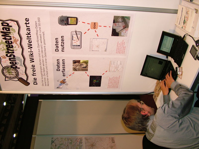 File:OSM-Booth-at-Intergeo-2008 1.jpg