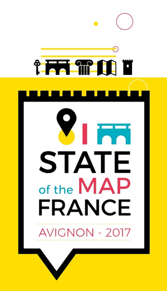 File:State of the Map France 2017 logo.png