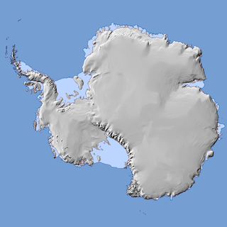 Basic map of Antarctica