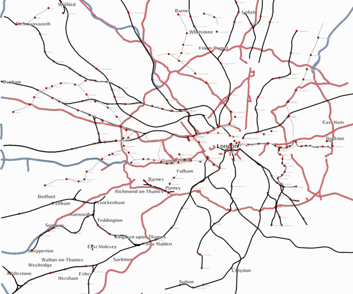 Greater London Key Transport