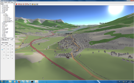 Embrun France OSM-3D.org