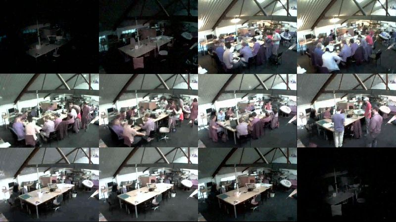 File:London Hack Weekend May 2010 hackspace webcam.jpg
