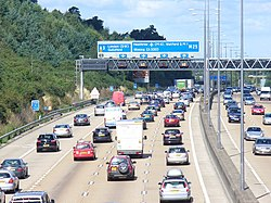M25 by Telegraph Hill - geograph.org.uk - 933597.jpg