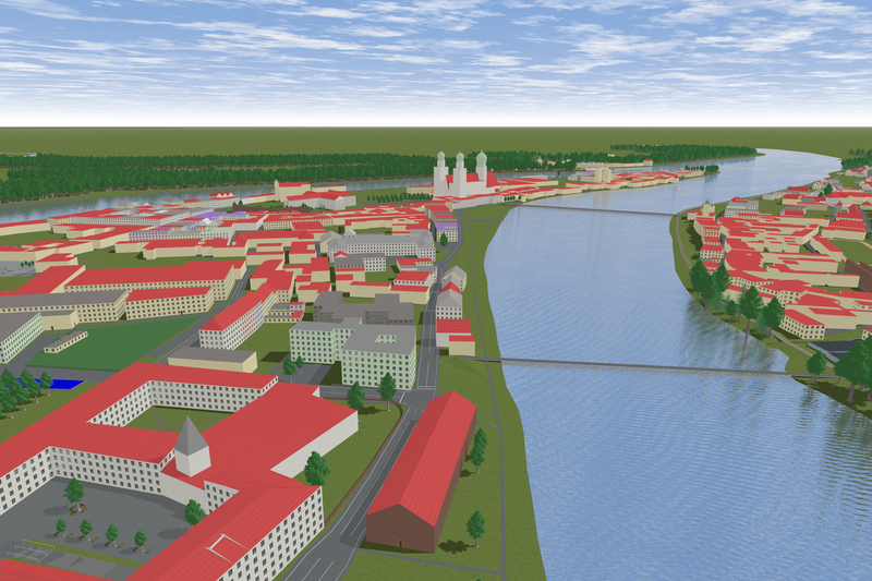 File:OSM2World 0.2.0 - Passau from Inn POV.png