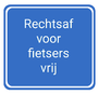 Dutch traffic sign VR06