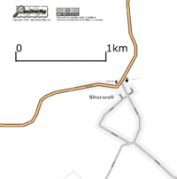 Map of Shorwell