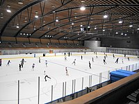 Kose sports park Ice Arena indoor skating rink.JPG
