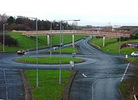 Traffic Island, Coulby Newham - geograph.org.uk - 91699.jpg